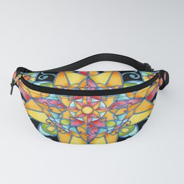 Sunshine Arabesque Fanny Pack