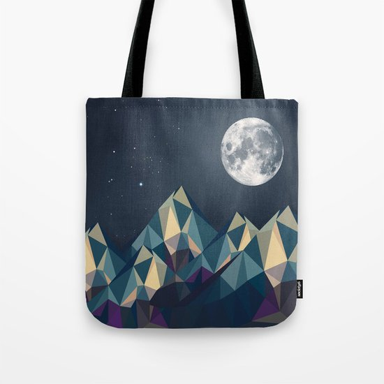 Night Mountains No. 1 Tote Bag