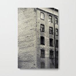 Old Latvian Bricks Metal Print