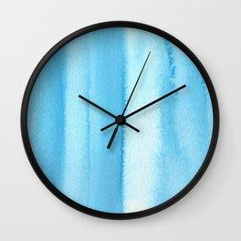 151208 9.Phthalocyanine Blue Wall Clock