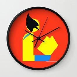 Weapon X Gentleman Reads Wall Clock