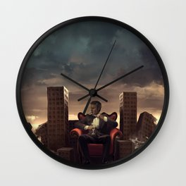 It was fun while it lasted Wall Clock