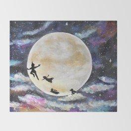 Peter Pan Throw Blanket