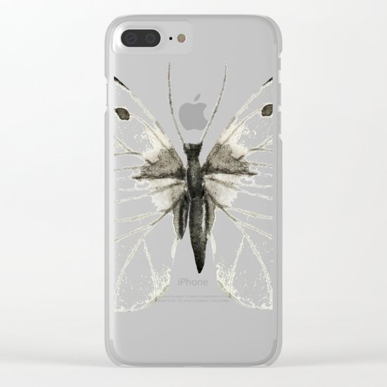 Butterfly 07 Clear iPhone Case