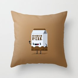 Choco Milk Throw Pillow