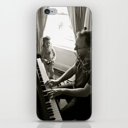 Piano Man iPhone Skin