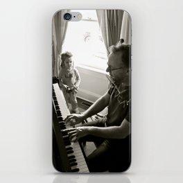 Piano Man iPhone Skin