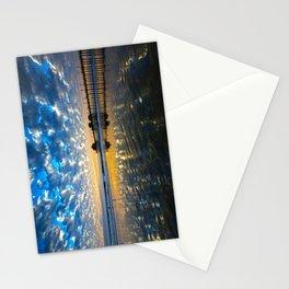 Huntington Beach Sunset   12/17/13   Stationery Cards