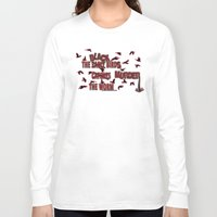 dramatical murder Long Sleeve T-shirts featuring MURDER  -  021 by Lazy Bones Studios