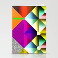 metallic Stationery Cards featuring Metallic by dogooder
