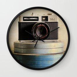 Old Camera Wall Clock