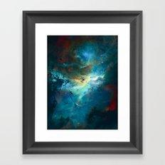 δ Wezen Framed Art Print