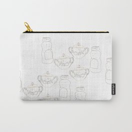 Honey bear and sugar bowl Carry-All Pouch