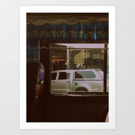 Bus Ride #2 Art Print
