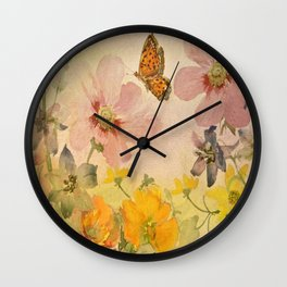 A Little Bit Of Spring Wall Clock