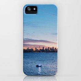 Sunset in Sydney iPhone Case