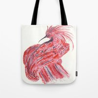 phoenix Tote Bags featuring phoenix by echoes