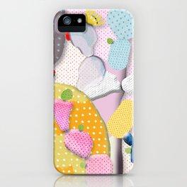 Pink Cactus Mexico Lindo iPhone Case