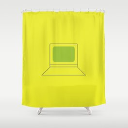 Computer World Shower Curtain