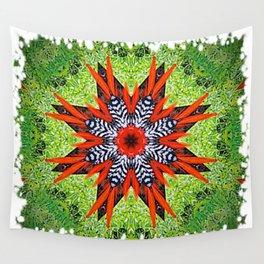 FLOR DE PLUMAS Wall Tapestry