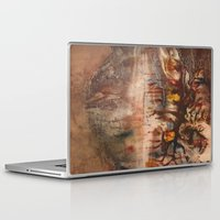 middle earth Laptop & iPad Skins featuring Middle of the Earth by Loredana