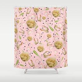 Tempura Udon Shower Curtain