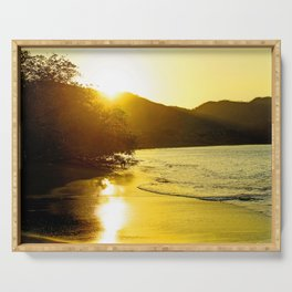 Pacific Sunset Serving Tray