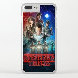 Strange Things Clear iPhone Case