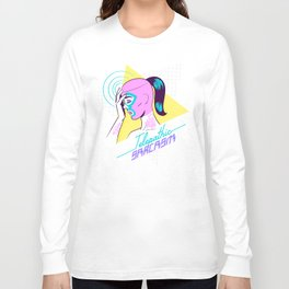 Telepathic sarcasm Long Sleeve T-shirt