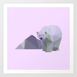 polar pastel Art Print