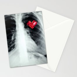 RX_heart Stationery Cards