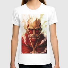 Colossal titan artwork T-shirt