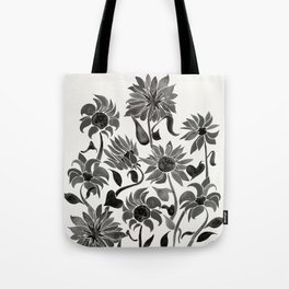 Sunflowers – Black Palette Tote Bag