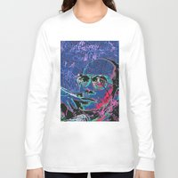 hunter s thompson Long Sleeve T-shirts featuring Hunter S. Thompson by Kori Levy illustration & design
