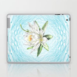 Waterlily Colored pencil Laptop & iPad Skin