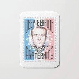 Emmanuel Macron Bath Mat