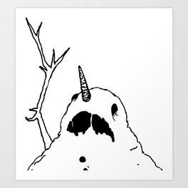 Do You Smell Carrots? Art Print