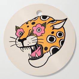 Cheetah Cutting Board