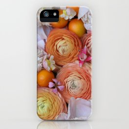 Flower Design 13 iPhone Case