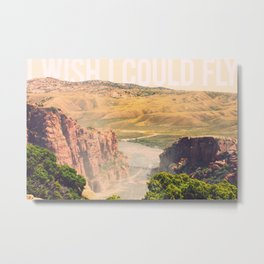 I Wish I Could Fly Metal Print