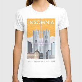 Insomnia (Final Fantasy XV) Travel Poster T-shirt