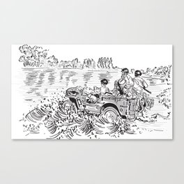 1944 Willys Jeep Canvas Print