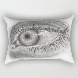 Pencil Eye Rectangular Pillow