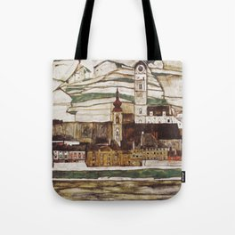 Egon Schiele - Stone on the Danube Tote Bag