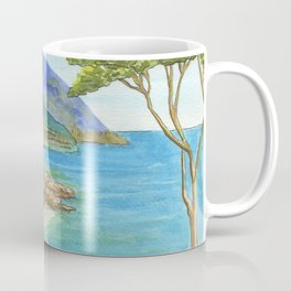 Seaside Village Coffee Mug