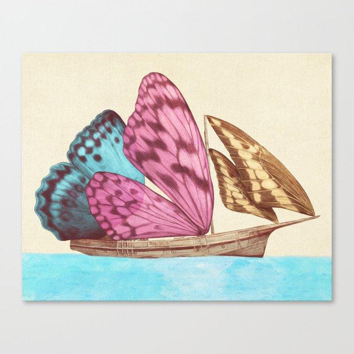 The Voyage (option) Canvas Print
