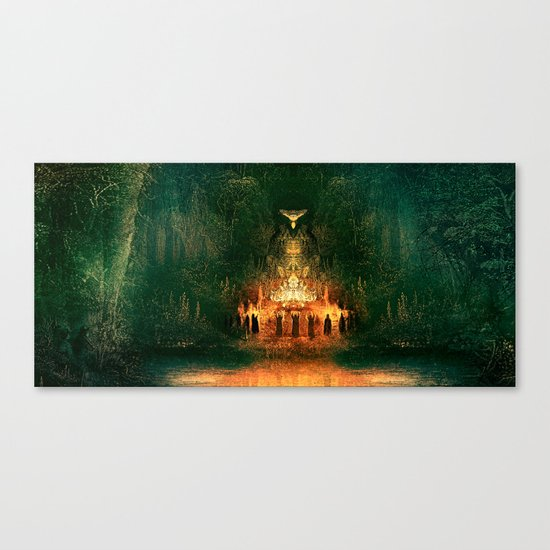 3:33 - Live From the Grove print Canvas Print