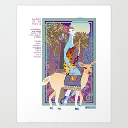 Women of the Myth: Artemis-Diana Art Print