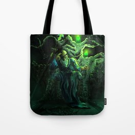 Odin and his loyal beasts Tote Bag