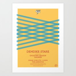Demdike Stare Art Print